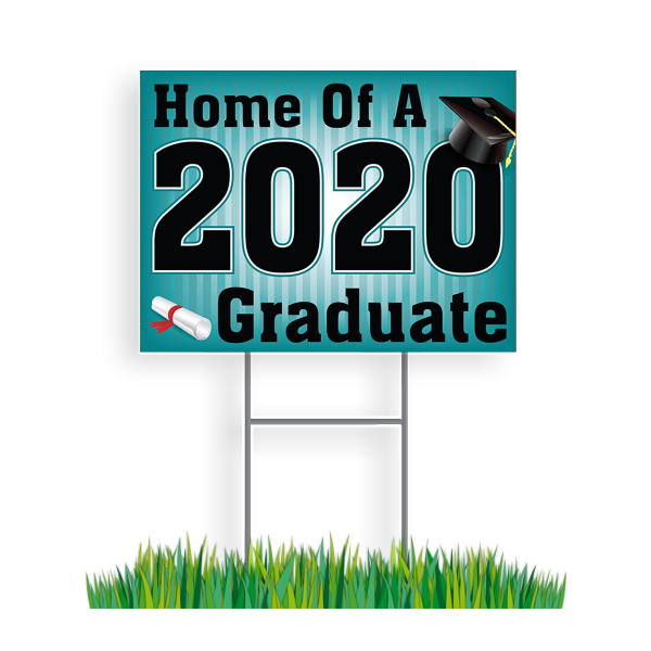 Graduation 2020 Lawn Sign