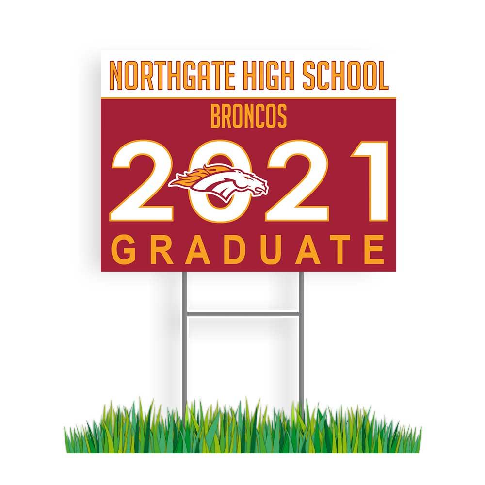 Northgate Graduation Sign